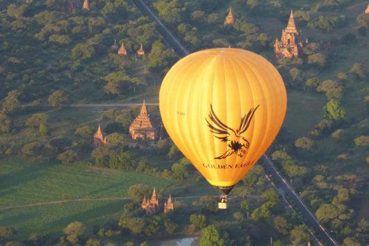 Golden Eagle Ballooning