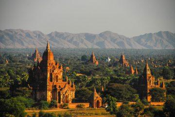 Bagan - Arial View