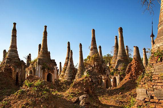 Shwe Indein Ruins